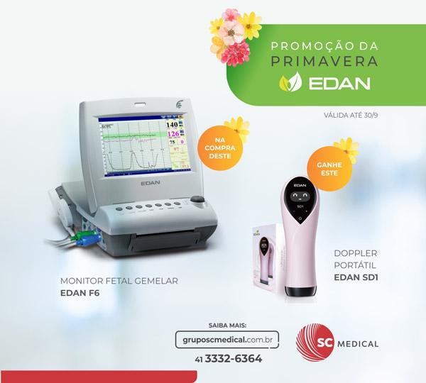 Promoção da Primavera - Edan e SC Medical